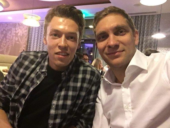 Даниил Квят и Виталий Петров. Фото Instagram