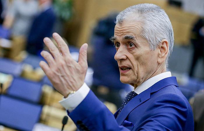 Геннадий Онищенко. Фото ТАСС