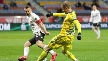 ВБелоруссии будут играть допервого заражения. Игроки «Динамо» приехали наматч вмасках