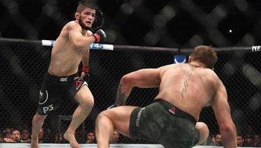 Хабиб назвал себя самым доминирующим бойцом. Онправ?