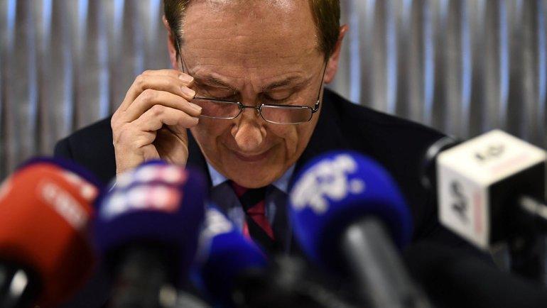 Бывший президент федерации фигурного катания Франции Дидье Гайаге. Фото AFP