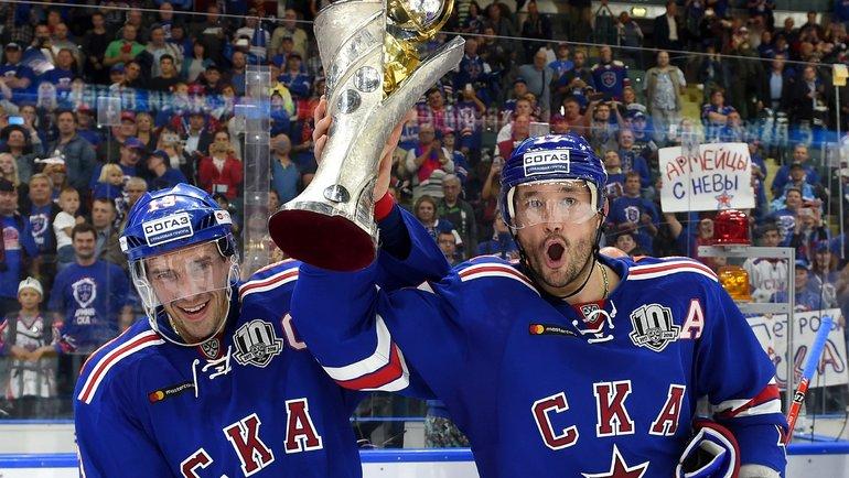 Павел Дацюк иИлья Ковальчук. Фото photo.khl.ru