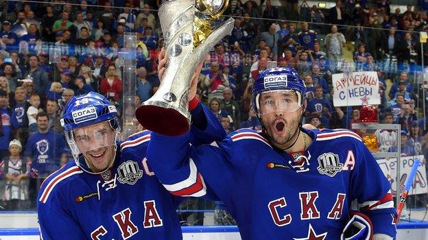 Павел Дацюк и Илья Ковальчук. Фото photo.khl.ru