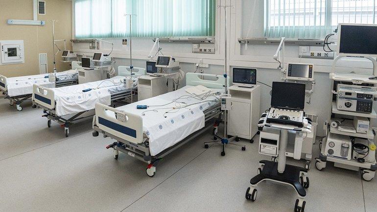 Новая инфекционная больница вНовой Москве. Фото Официальный сайт мэра Москвы