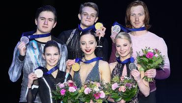 Бойкова иКозловский— четвертые врейтинге ISU, Тарасова иМорозов— вторые