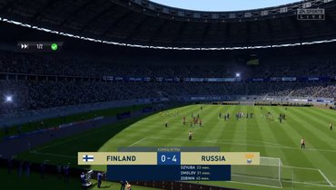 Соболев засборную России разгромил Финляндию впервом матче турнира FIFA 20