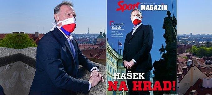 Доминик Гашек на обложке чешского журнала.