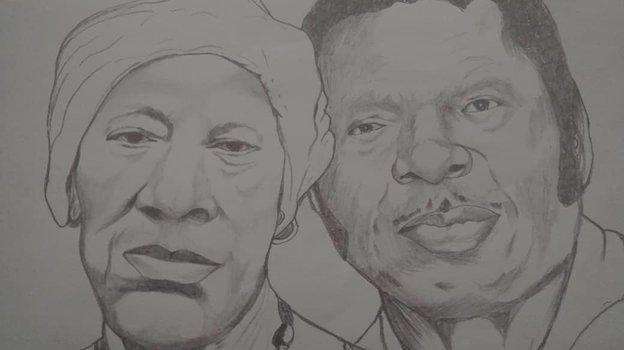 Рисунок родителей.