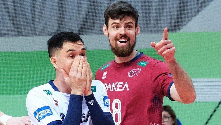 Егор Клюка (справа).