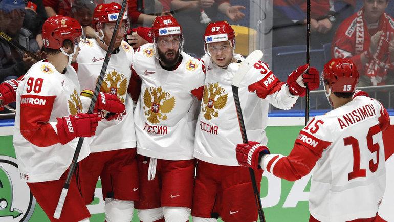 Сборная России. Фото Reuters