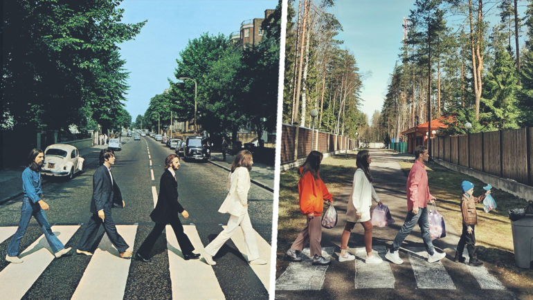 The Beatles — Abbey Road.