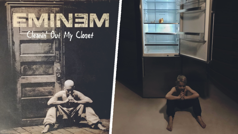 Eminem — Cleanin' Out My Closet.