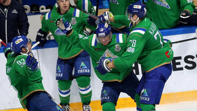 ХК «Салават Юлаев». Фото photo.khl.ru
