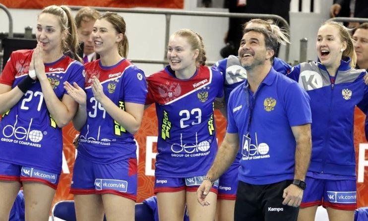 Женская сборная России погандболу вышла наЕвро-2020. Фото ФГР