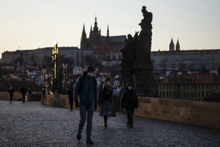 Карлов мост, Прага (Чехия). Фото AFP