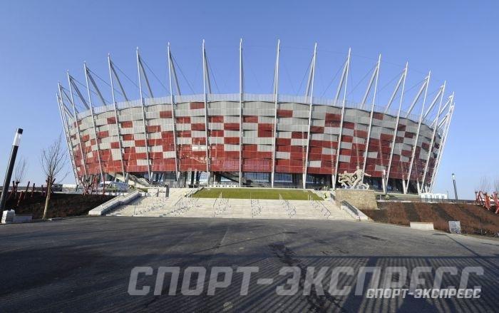 """Национальный стадион вВаршаве. Фото """"СЭ"""""""