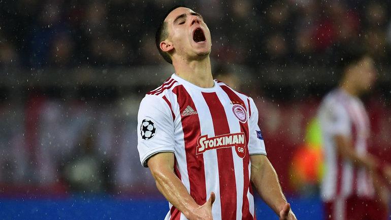 «Олимпиакосу» грозит ссылка внизший дивизион из-за договорного матча. Фото AFP