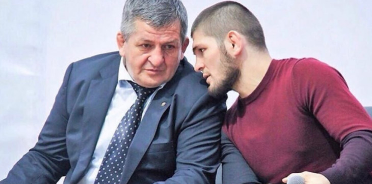 Абдулманап иХабиб Нурмагомедовы. Фото MMA Boxing