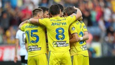 БАТЭ победил «Городею», голы забили экс-игроки «Динамо» и «Рубина»