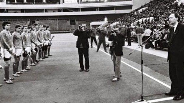 Вячеслав Мельников возглавил «Зенит» в1992 году— перед стартом первого чемпионата России. Фото ФК «Зенит»