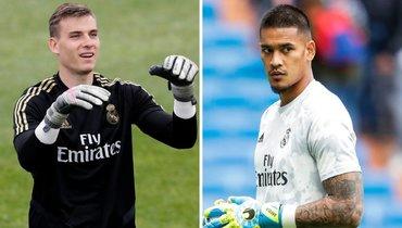 «Реал» решил сделать Лунина вторым вратарем вместо Ареола поэкономическим соображениям