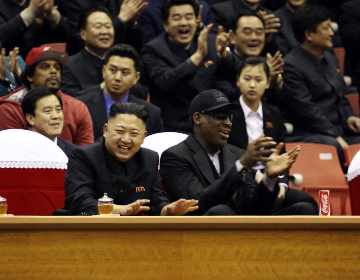 Почему заздоровье Ким Чен Ына молится легенда НБА? Странная дружба