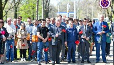 «Армавир» поблагодарил ликвидаторов чернобыльской аварии