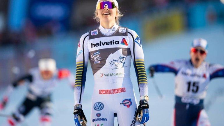 Стина Нильссон. Фото Yle