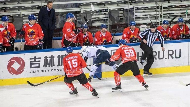 Китайские клубы непримут участия вследующем сезоне ВХЛ. Фото vk.com/hc_tsen_tou