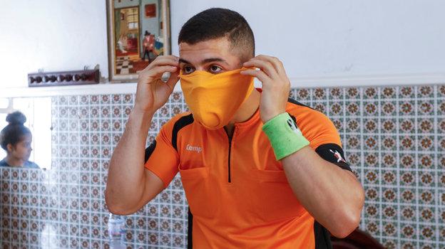 26апреля. Набуль. Абдельхак Этлили. Фото Reuters