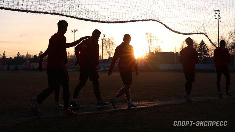 Когда команды возобновят занятия? Фото Федор Успенский, «СЭ»