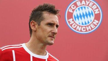 Eurosport: Клозе войдет втренерский штаб «Баварии»