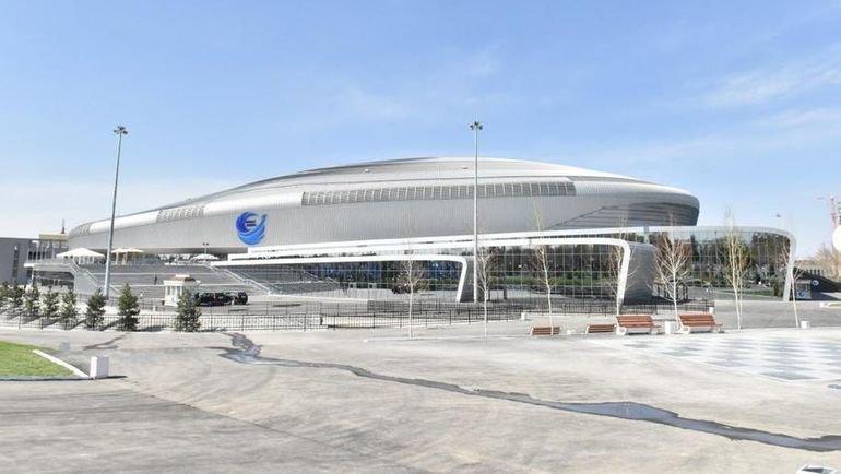 """Ледовая арена """"Хумо"""". Фото  Баходир Саидов"""