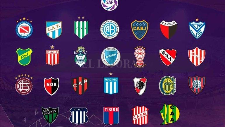 Чемпионат Аргентины. Фото Superliga Argentina.