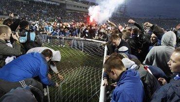 "Фанаты ""Зенита"". Фото Soccer-Russia"