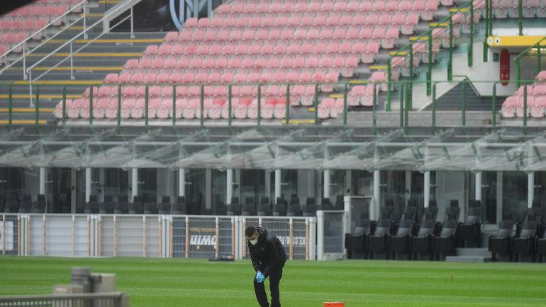 Чемпионат Италии может завершиться досрочно, если до14июня сезон невозобновится. Фото Reuters