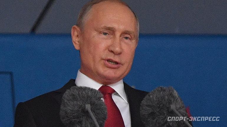 Владимир Путин. Фото Александр Федоров, «СЭ»
