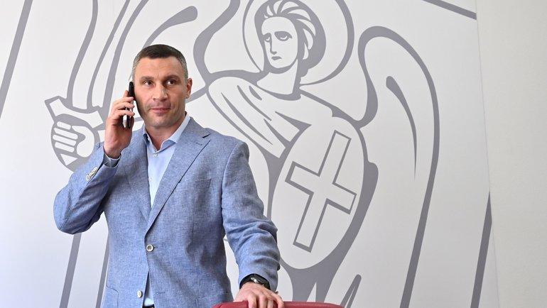 Виталий Кличко. Фото AFP