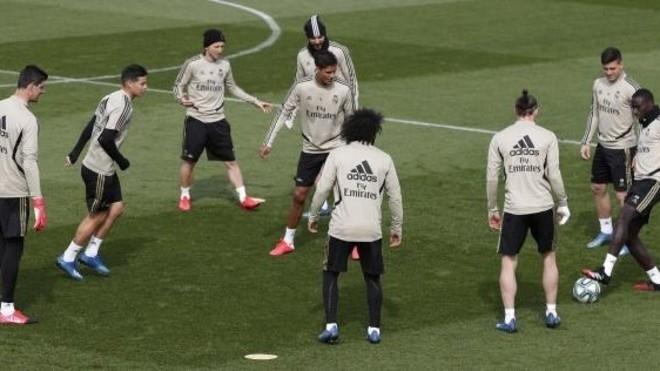 Тренировка «Реала». Фото Marca