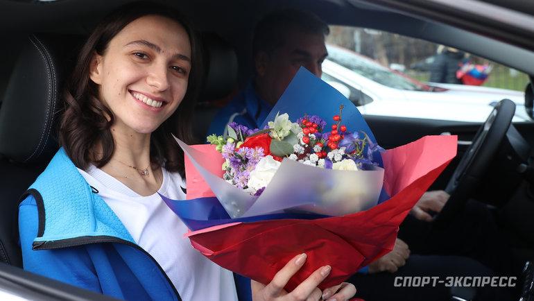 Мария Ласицкене— трехкратная чемпионка мира попрыжки ввысоту.