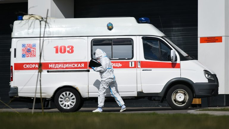 Эпидемия коронавиурса вМоскве. Фото twitter.com/MosSobyanin.