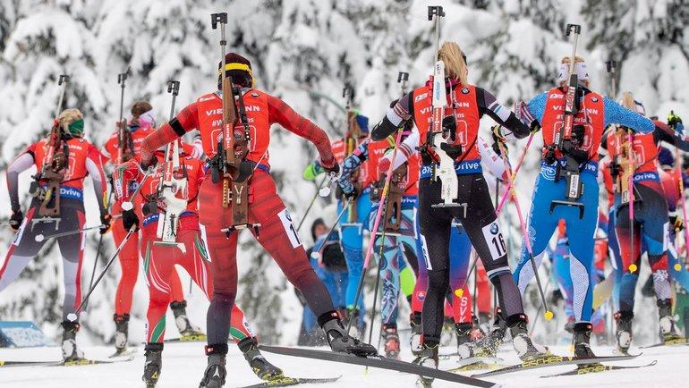Кубок мира побиатлону. Фото AFP