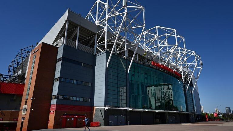 «Олд Траффорд». Фото Sky Sports.