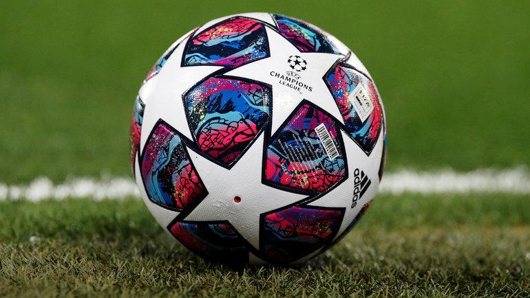 Мяч Лиги чемпионов. Фото Reuters