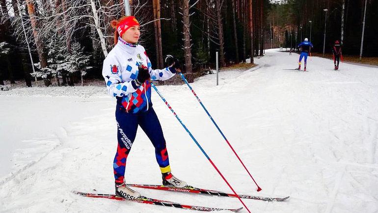 Анастасия Барковская. Фото biathlonspb.ru
