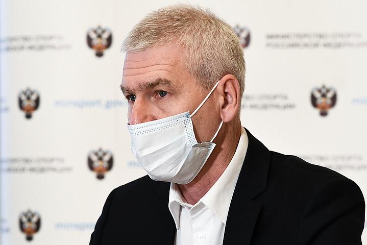 Олег Матыцин во время совещания. Фото minsport.gov.ru.