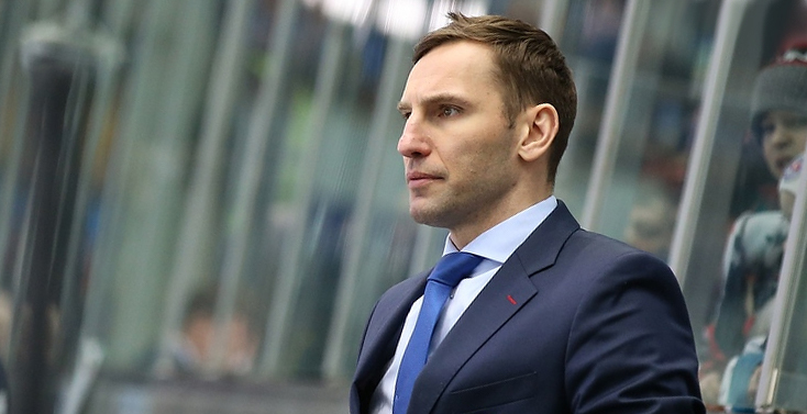 """Дэвид Немировски. Фото ХК """"Торпедо""""."""
