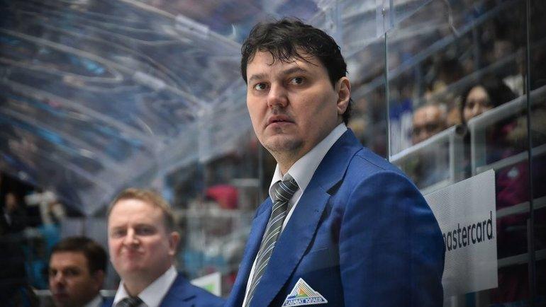 Николай Цулыгин. Фото ХК «Салават Юлаев»