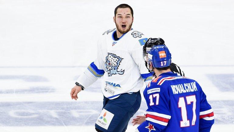 Дамир Рыспаев. Фото photo.khl.ru