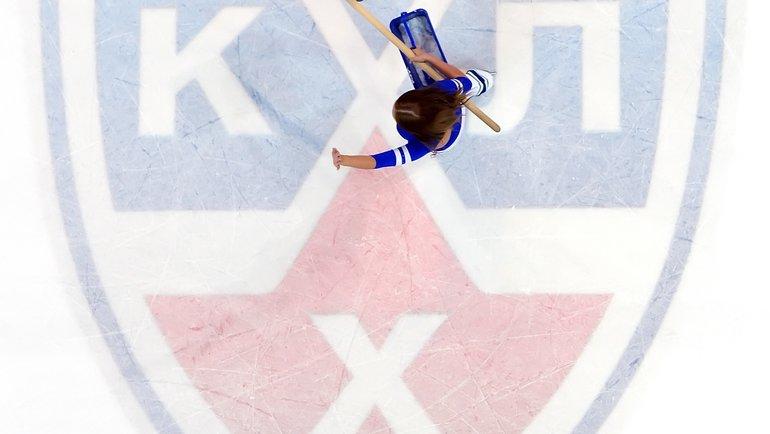Лого КХЛ. Фото Юрий Кузьмин, photo.khl.ru